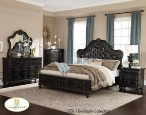 TRADITIONAL BEDROOM SET - AVAILABLE IN BOTH KING AND QUEEN - GREAT  DEAL - FREE SHIPPING | CALL 905-451-8999 (MA27)