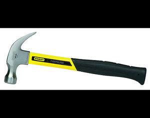 STANLEY 16OZ FIBERGLASS CURVED CLAW HAMMER