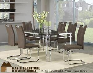 modern kitchen & dinette room sets, arm chairs, tables, 5178