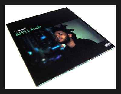 THE WEEKND KISS LAND 2x LP VINYL 180g DELUXE JACKET EDITION 1st PRESS EU LTD New ()