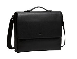 Hugo Boss Bangor 2 Messenger Bag textured Leather