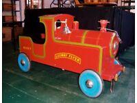 GRAB A BARGAIN. VINTAGE PEDAL TRAIN / PEDAL CAR.