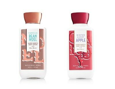 BATH & BODY WORKS - BODY LOTION VANILLA BEAN NOEL WINTER CANDY APPLE *U CHOOSE* Apple Vanilla Body Lotion
