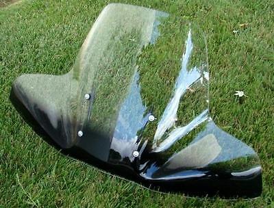 2-tone Large Windshield For Harley Davidson Sportster Dyna Glide Softail Fl Fx on Sale
