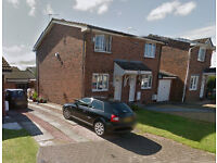 2 bedroom semi-detached house for rent in Jones Green, Deer Park, Livingston.