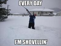 Gab's snow shovelling - 10th time is free!!