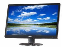 """Rarely used Acer S S220HQLrbd 21.5"""" Widescreen LED Monitor in London"""
