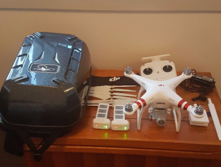 DJI Phantom 3 with heaps of extras!