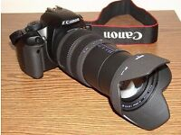 Canon EOS 500D Camera with Sigma 15-800 lens, excellent condition