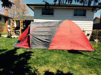 Complete Summer Camping Set Up!!