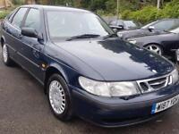 Saab 9-3 2.2TID (blue) 2000