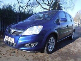 Vauxhall Zafira 1.7CDTI ELITE - FROM £30 PER WEEK