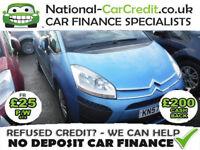 Citroen C4 Grand Picasso 1.6 HDI SX 110HP Good / Bad Credit Car Finance (blue) 2007