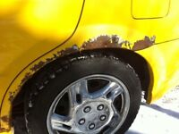 Mobile Auto body, Paint, Rust, Collision repair, Mig Welding