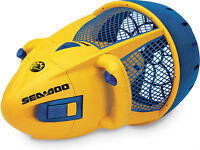 Sea Doo Dolphin SeaScooter – Kids Electric Waterproof - Yellow Z
