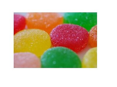 Sunkist Fruit Gems - Jelly Belly Candy - FRESH - 1 LB BAG - WRAPPED (Wrapped Fruit Gems)