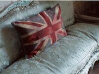 Vivienne Westwood tapestry cushion.