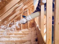 Attic insulation and removal