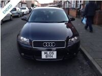 Audi A3 1.6 sport Spechal edition 05 starts and drives mint