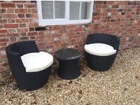 Patio/Garden Chairs & Table