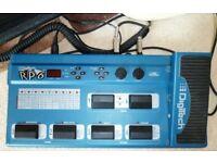DigiTech RP6 Digital guitar effects pedal.