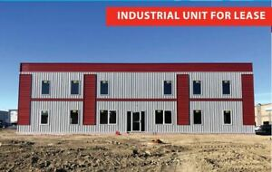 Industrial Shop/Bay For Lease BRAND NEW