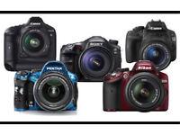 Dslr camera wanted