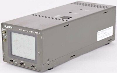 Leader Electronics 5854 Dual Input Channel Hv Position Ntsc Vector Scope