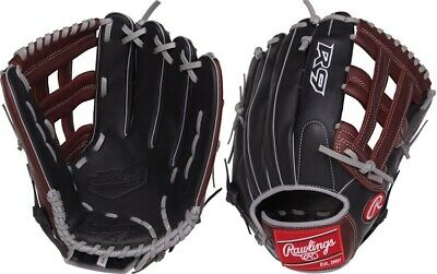 "Rawlings R93029-6BSG 12.75"" R9 Gold Glove Series Narrow Fit Youth Baseball Glove"