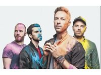 Coldplay tickets - VERY BEST SEATS - 11th July - Cardiff Stadium