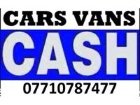 07710787477 WANTED CARS JEEPS VANS SCRAP CARS NON RUNNERS SELL MY CAR SPARES OR REPAIR