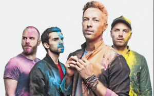 2 COLDPLAY TICKETS FOR SEPTEMBER 26th EDMONTON SHOW
