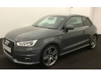 GREY AUDI A1 1.0 1.2 1.4 T FSI SE SPORT S LINE BLACK EDITION FROM £72 PER WEEK!