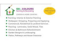 Cheap & Professional Painters & Decorators, Laminate & Wood Flooring, Tiling, Gardening, Painting