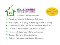 Cheap Professional Painters & Decorators, Laminate & Wood Flooring, Tiling, Gardening, Waste Removal