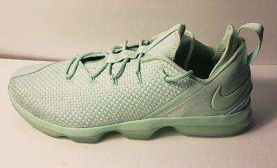 43652ffe1f4 New Nike Lebron XIV Low Basketball Shoes Mens Size 18 Mint Foam Green 878636 -300