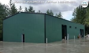 Steel Buildings- Clear Out Event