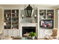 Fited Alcove cupboards cabinets wardrobes or floting shelves etc