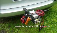 12V Seilwinde Horn 3,5 inkl. Schnellwechsesystem für AHK, 1,58t Essen - Steele Vorschau
