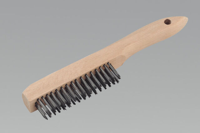 Sealey WB02 Engineer's Wire Brush with Steel Fill 260mm