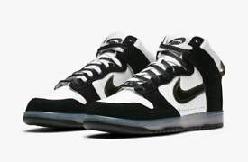 Nike Dunk High x Slam Jam Clear Black UK10.5
