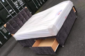 💯BRAND NEW QUALITY CRUSH VELVET BEDS!!FREE DELIVERY 🚛🚛