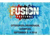Fusion Festival Gold Circle Tickets, Sunday 4th September 2016