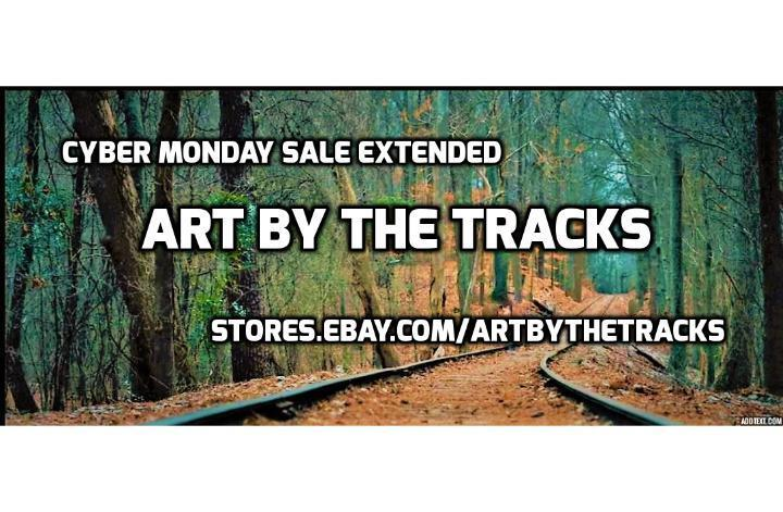 ART BY THE TRACKS for art & jewelry