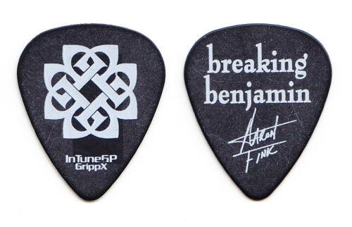 Breaking Benjamin Aaron Fink Signature Black Guitar Pick - 2008 Tour
