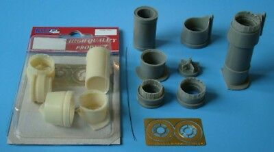 AML Models 1/48 DASSAULT MIRAGE IIIE / V EXHAUST NOZZLE Resin & Photo Etch Set, used for sale  USA