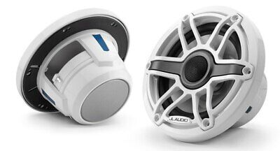 """NEW JL Audio M6-770X 7.7"""" Gloss White Sports Grille from Blue Bottle Marine"""