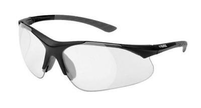 Elvex Rx500 Clear Full Bifocal 1.5 Ballistic Safety Glasses Rx500c-15