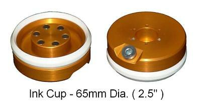 Pad Printing 65mm 2.5 Ink Cup With Ceramic Ring For Pad Printer Magnetic