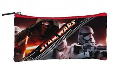 Star Wars The First Order pencil case plate 2 poches 8 5/16x4 5/16in 814725](5 Star Pencil Case)